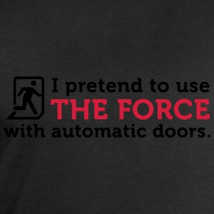 Open Automatic Doors with the Force (2c) Forklær - Sweatshirts for menn fra Stanley & Stella