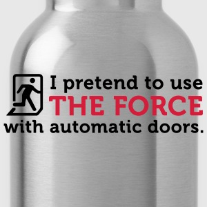 Open Automatic Doors with the Force (2c) Forklær - Drikkeflaske