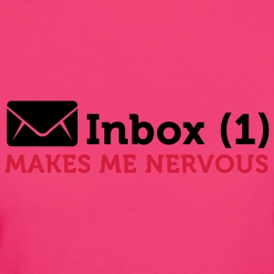 Inbox (1) Makes Me Nervous (2c) Mochilas - Camiseta ecológica mujer