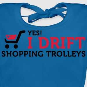 I Drift Shopping Trolleys (2c) T-shirt bambini - Bavaglino