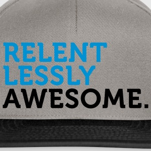 Relentlessly Awesome 2 (2c) Pullover - Snapback Cap