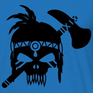 Skull with Tomahawk  Hoodies & Sweatshirts - Men's T-Shirt