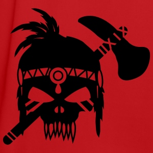 Skull with Tomahawk  Bags  - Men's Football Jersey