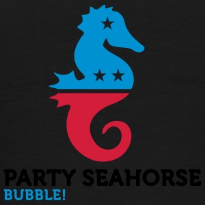 Party Seahorse (3c) Sweatshirts - T-shirt Premium Homme