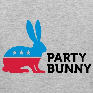 Party Bunny 2 (3c) Pullover - Männer Slim Fit T-Shirt