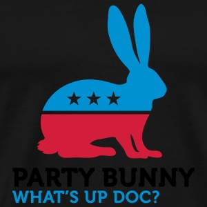 Party Bunny (3c) Tasker - Herre premium T-shirt