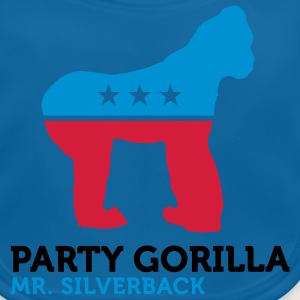 Party Gorilla (3c) Barn-T-shirts - Ekologisk babyhaklapp