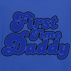 First Time Daddy Colors T-Shirt YN - Women's Tank Top by Bella