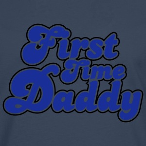 First Time Daddy Colors T-Shirt YN - Men's Premium Longsleeve Shirt