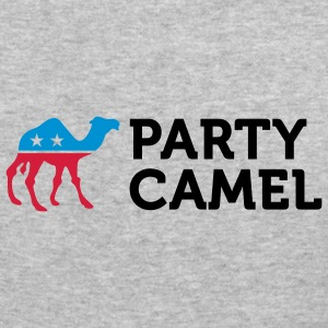 Party Camel 2 (3c) Sweatshirts - Herre Slim Fit T-Shirt