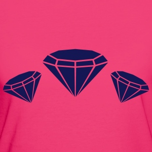 diamonds diamant kristall crystal Taschen - Frauen Bio-T-Shirt