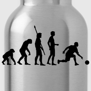 evolution_bowling_player_1c T-Shirts - Water Bottle