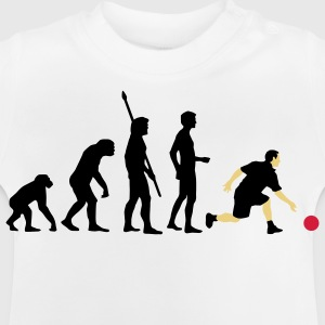 evolution_bowling_player_3c Shirts - Baby T-Shirt