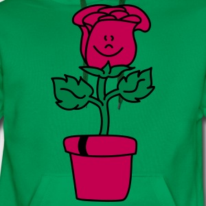 Small lovely Rose  Aprons - Men's Premium Hoodie
