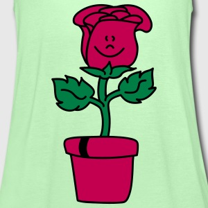 Small lovely Rose  Aprons - Women's Tank Top by Bella