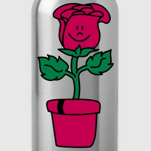 Small lovely Rose  Aprons - Water Bottle