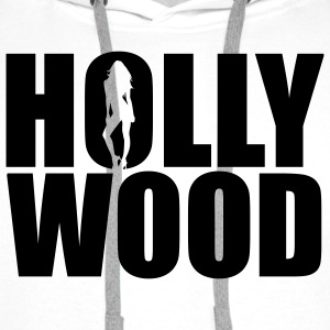 Hollywood Babe | Hollywood Fashion T-Shirts - Sudadera con capucha premium para hombre