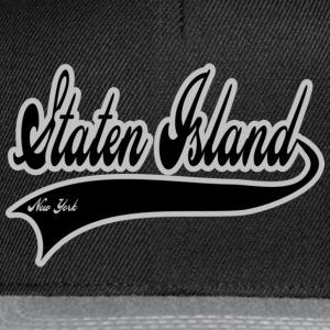 staten island new york T-shirts - Casquette snapback
