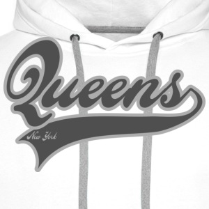 queens new york T-shirts - Sweat-shirt à capuche Premium pour hommes