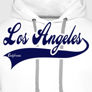 los angeles california T-shirts - Sweat-shirt à capuche Premium pour hommes