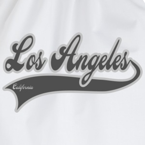 los angeles california T-Shirts - Turnbeutel