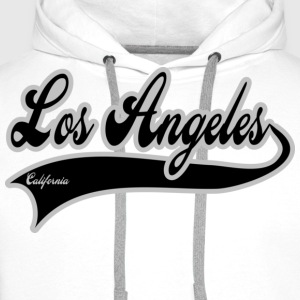 los angeles california T-Shirts - Männer Premium Hoodie