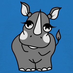 The shy rhino  Umbrellas - Men's T-Shirt
