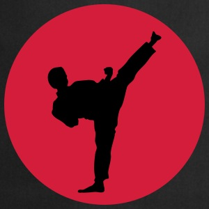 Martial Arts, Kick T-shirts - Tablier de cuisine