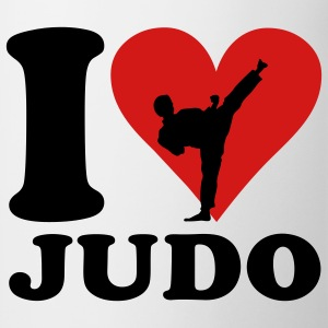 I love Judo T-shirts - Mugg
