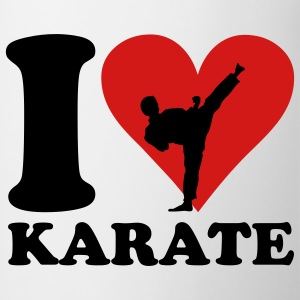 I love Karate T-shirts - Mugg