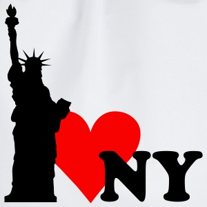 I love New York - NY T-Shirts - Drawstring Bag
