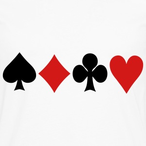 Poker - Cards T-Shirts - Men's Premium Longsleeve Shirt