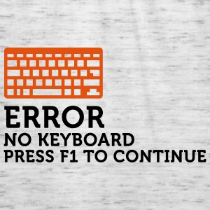 Error No Keyboard 2 (2c) Hoodies & Sweatshirts - Women's Tank Top by Bella