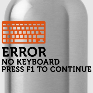 Error No Keyboard 2 (2c) Hoodies & Sweatshirts - Water Bottle