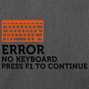 Error No Keyboard 2 (2c) Hoodies & Sweatshirts - Shoulder Bag made from recycled material