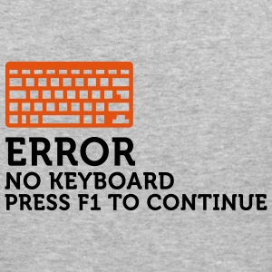 Error No Keyboard 2 (2c) Hoodies & Sweatshirts - Men's Slim Fit T-Shirt