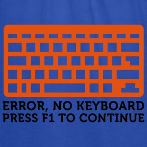 Error No Keyboard (2c) T-skjorter - Singlet for kvinner fra Bella