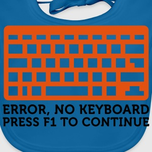 Error No Keyboard (2c) Barneskjorter - Baby biosmekke