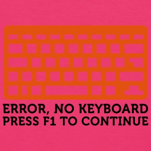 Error No Keyboard (2c) Bags  - Women's Organic T-shirt