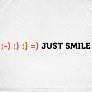 Just Smile 2 (2c) T-shirt - Cappello con visiera