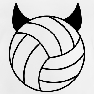 Volleyball - Devil T-shirts Enfants - T-shirt Bébé