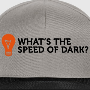 What's the Speed of Dark 3 (2c) Sweaters - Snapback cap