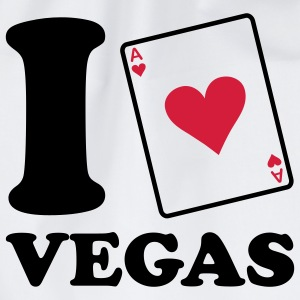 I love Vegas Kinder shirts - Gymtas