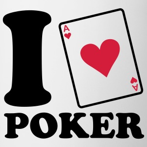 I love Poker Barneskjorter - Kopp