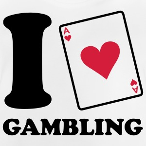 I love Gambling - Poker T-shirts Enfants - T-shirt Bébé