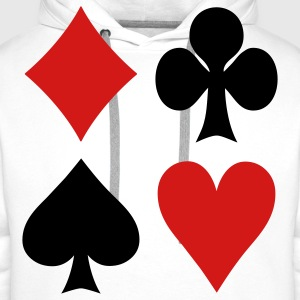 Poker - Cards Kids' Shirts - Men's Premium Hoodie