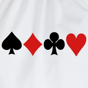Poker - Cards Barn-T-shirts - Gymnastikpåse
