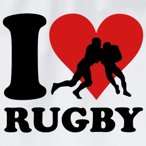I love Rugby Kinder shirts - Gymtas