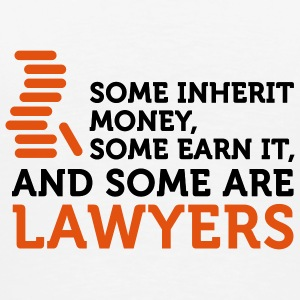 Some Men are Lawyers (2c) Tasker - Herre premium T-shirt