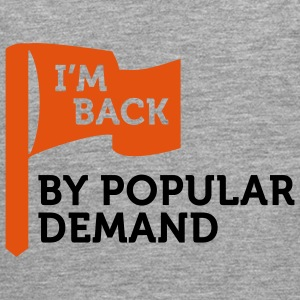 I'm back by popular demand 2 (2c) Sweatshirts - Herre premium T-shirt med lange ærmer